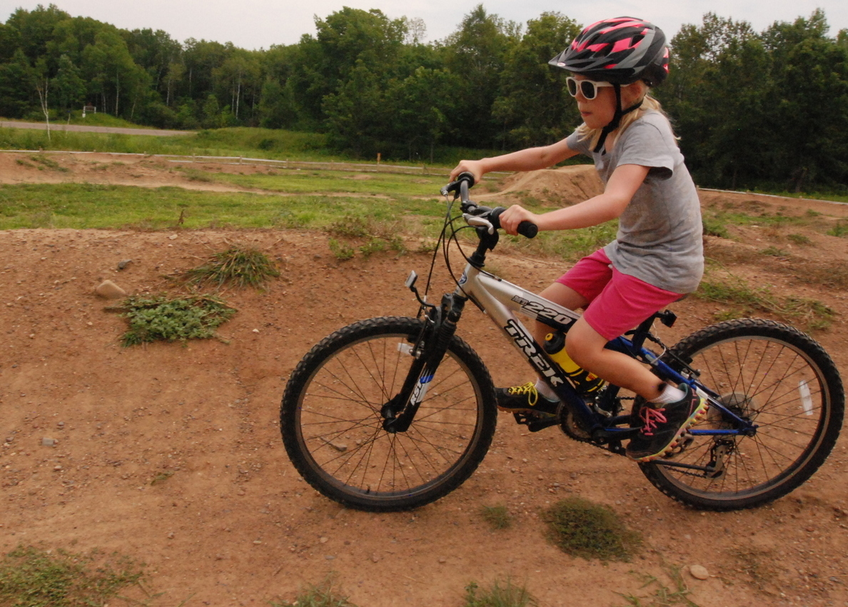 two rivers meet pump track bicycles